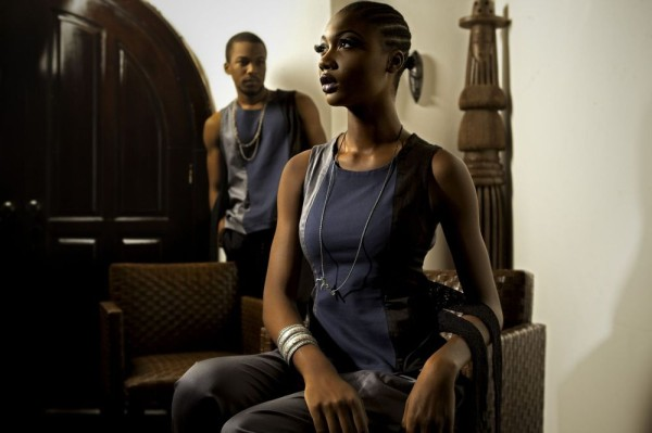 Nigerian sub-design label Zibah Photography: Toyosi Faridah Kekere-Ekun Stylist : Andrea Obienu Makeup: Jide Adedeji Models: Uju & Henry Uku